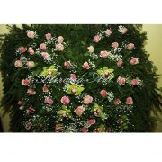 Coroana trandafiri roz
